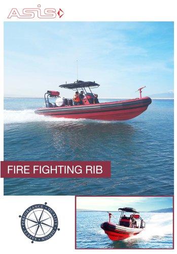ASIS Firefighting RHIB