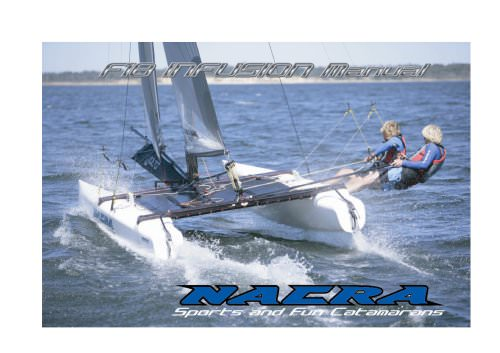 Nacra F18 Infusion owners manual