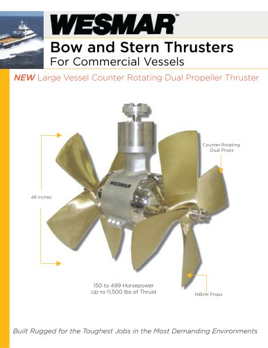 48-inch Commercial Thruster