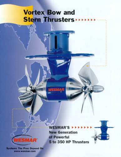 Vortex Bow and Stern Thrusters