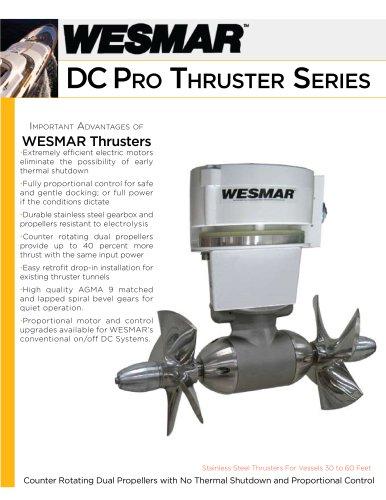 WESMAR DC Pro Thruster Series