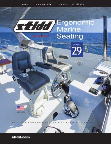 Ergonomic Marine Seating