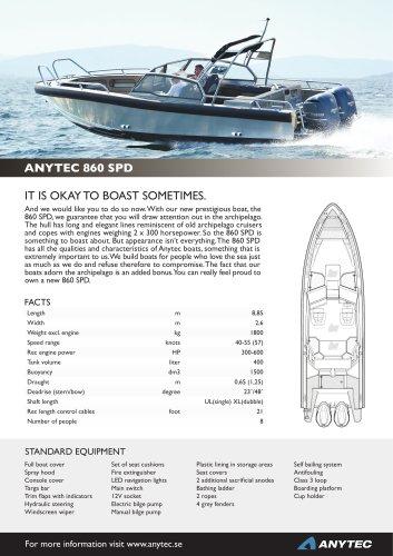 ANYTEC 860 SPD