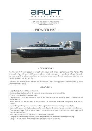 Pioneer Mk3