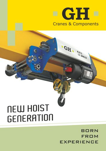 A New Generation of hoist up 12.5t