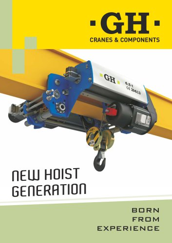 New Hoists Generation until 12.5t
