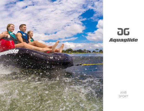 Aquaglide Sport Catalogue 2016