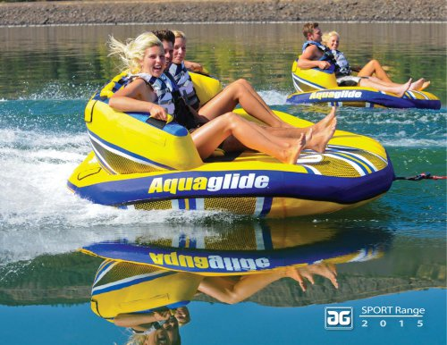 Aquaglide Sport Range Catalogue 2015