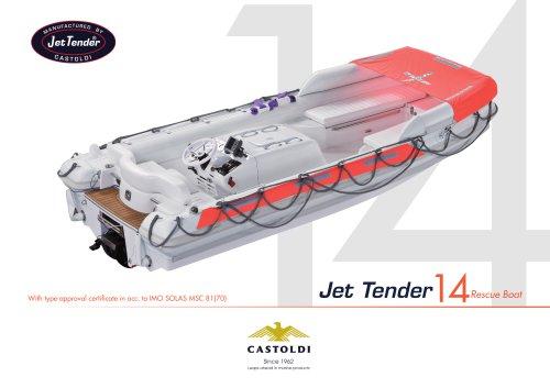 Jet Tender 14 RB - SOLAS