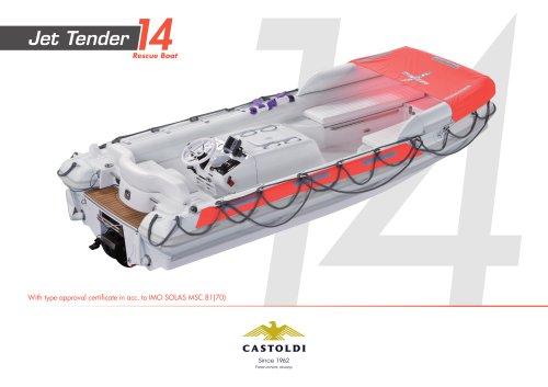 Jet Tender 14 Rescue Boat