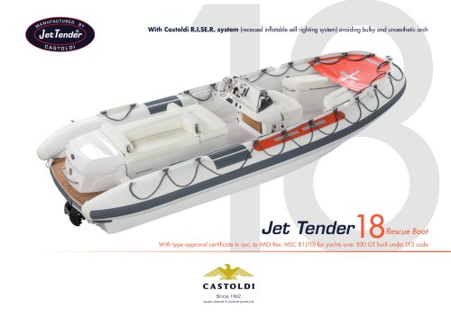 Jet Tender 18 RB - SOLAS