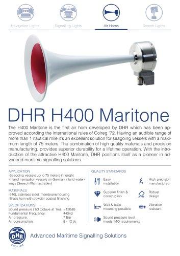 DHR H400 Series