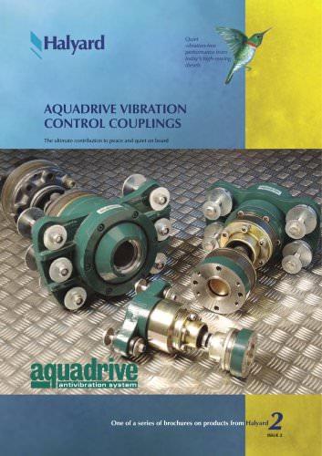 Brochure: Aquadrive Vibration Control Couplings