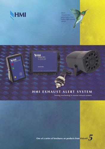 Brochure: Exhaust Alert System