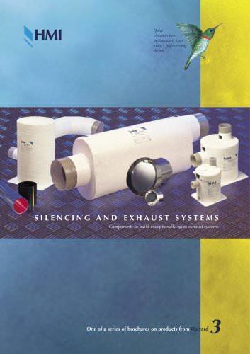 Brochure: Silencing & Exhausts