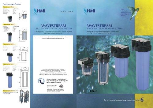 Brochure: Wavestream Bilge Filtration Systems