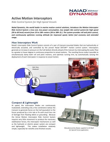 ACtive Motion Interceptors