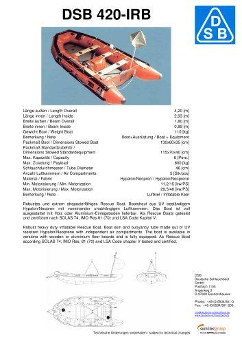 DSB 420-IRB