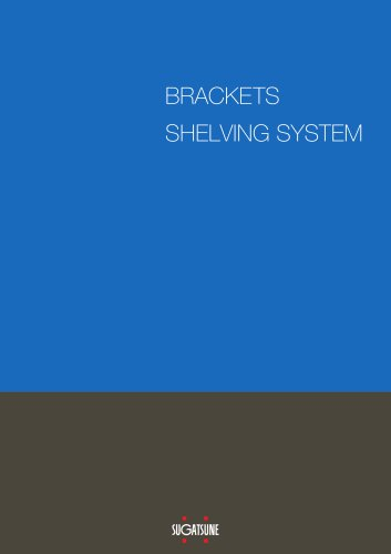 Brackets & Shelving Systems
