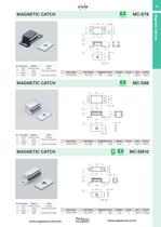 Magnetic catches - 13