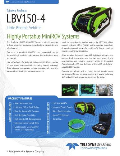 LBV150-4 MiniROV Systems
