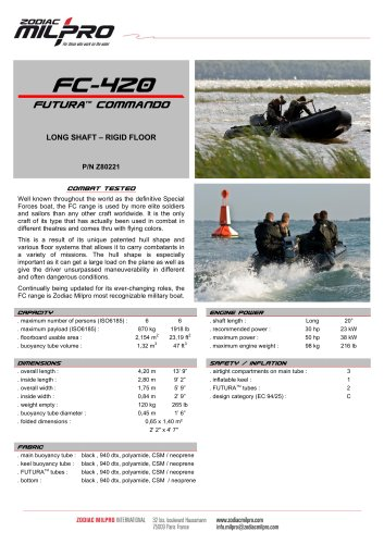 FC-420 rigid floor