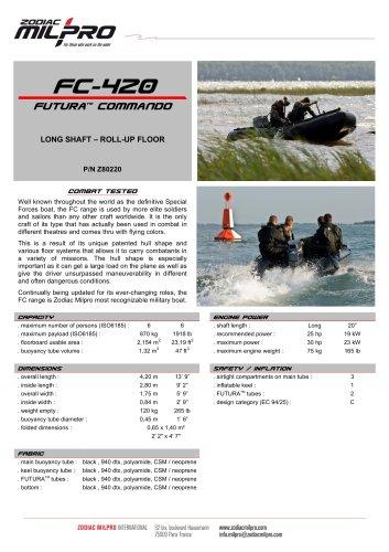 FC-420 roll-up floor