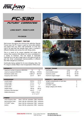 FC-530 rigid floor