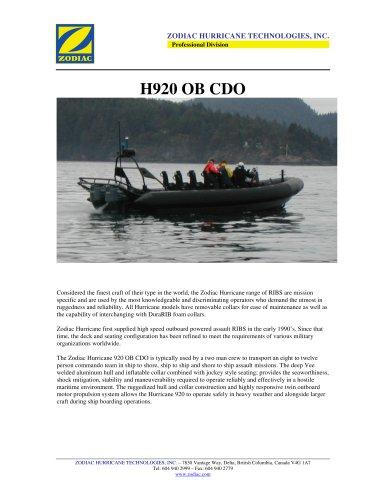 H920 CDO