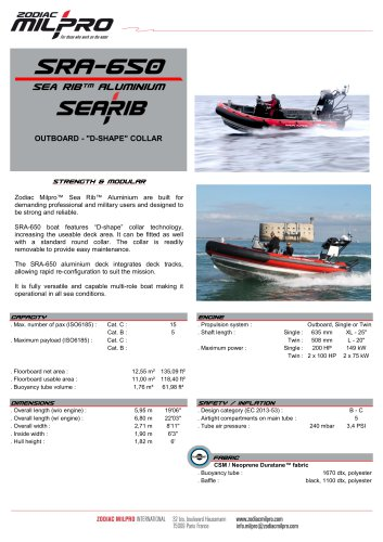 SRA-650 OB