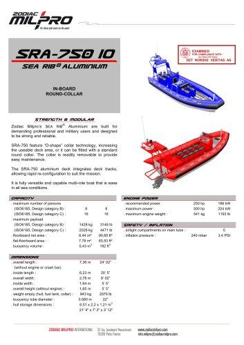 SRA-750 IO