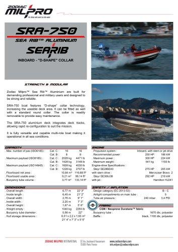 SRA-750 IO D-SHAPE