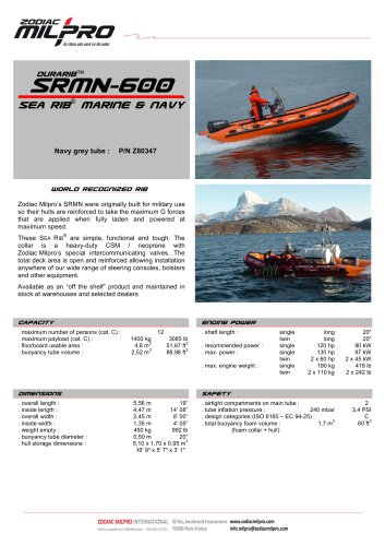 SRMN-600 Durarib