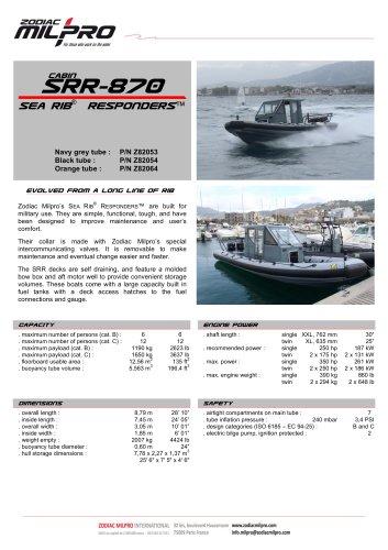 SRR-870 CABIN