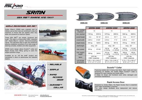 the SRMN range brochure