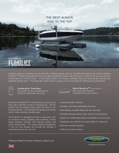 FloatLift Metric Sales Sheet