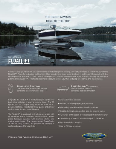 FloatLift Sales Sheet