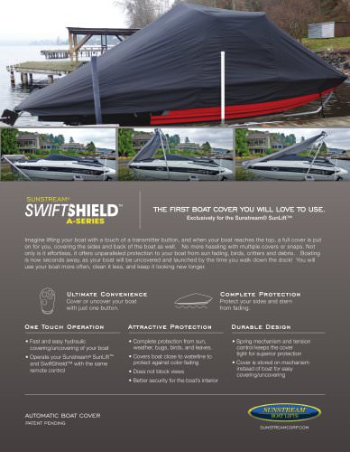 SwiftShield A-Series Sales Sheet