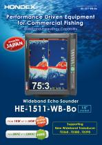 HE-1511-WB-Bo 15inch Fish Finder
