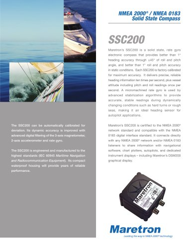 Solid State Compass (SSC200)