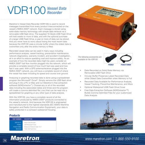 VDR100 vessel data recorder