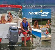2016 Deck Boats Catalog