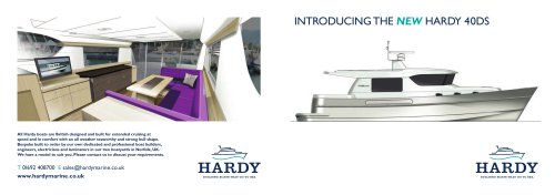 HARDY 40 Deck Saloon