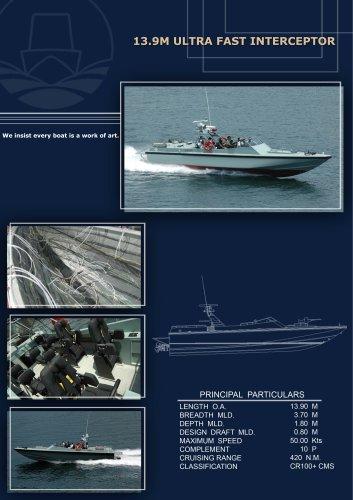 13.9M Ultra High Speed Interceptor
