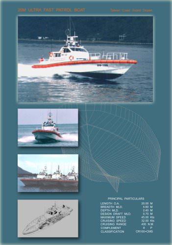 20M Ultra Fast Patrol Boat