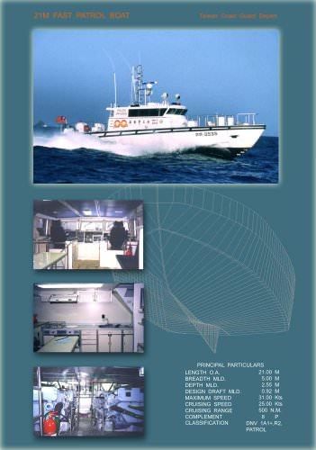 21M Patrol Boat