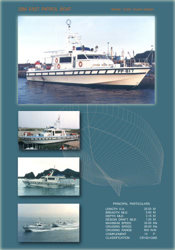25M Patrol Boat
