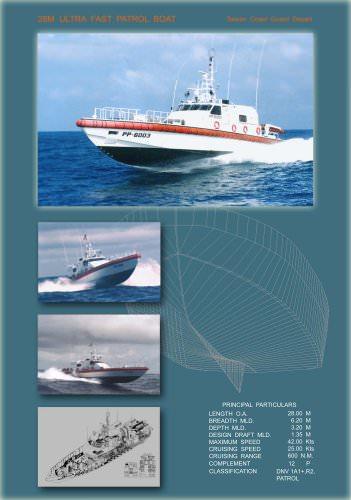 28M Ultra Fast Patrol Boat