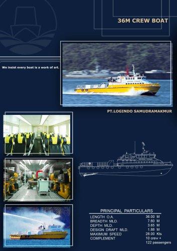 36M Crew Boat