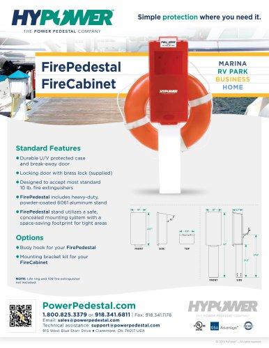 FirePedestal FireCabinet